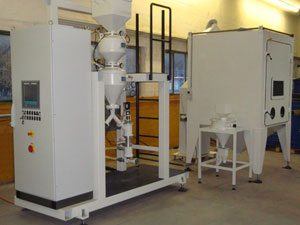 R&D peening system developed by Roxor and TBM
