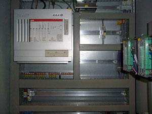 Control cabinet with Beckhoff IPC