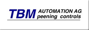 TBM Automation AG Peening Controls